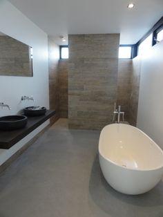 badkamer, vrijstaand bad