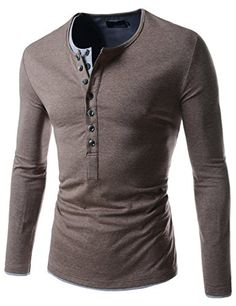 TheLees (VT09) Mens Casual Long Sleeve Layered Style Butt... https://www.amazon.com/dp/B00CD0DUPC/ref=cm_sw_r_pi_dp_x_C--gybZTGMC73