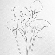Flower Drawing Discover How to draw flowers How to draw flowers step by step for beginners Easy Flower Drawings, Flower Drawing Tutorials, Flower Sketches, Pencil Art Drawings, Art Drawings Sketches, Easy Sketches To Draw, Pencil Drawings For Beginners, Beginner Sketches, Eye Drawings