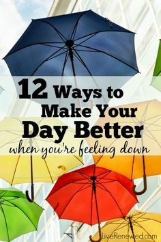 Are you having one of those days where you feel unmotivated? Try these simple ways to make your day better and boost your mood when you're having a bad day.