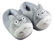 "My Neighbor Totoro Cartoon Plush Indoor Bedroom Winter Warm Slipper 11"""