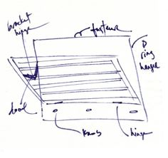DIY wall mounted drying rack - very detailed instructions! drying rack sketch