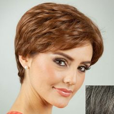 GET $50 NOW | Towheaded Short Side Bang Curly Human Hair Wig For WomenFor Fashion Lovers only:80,000+ Items • New Arrivals Daily • FREE SHIPPING Affordable Casual to Chic for Every Occasion Join RoseGal: Get YOUR $50 NOW!http://www.rosegal.com/human-hair-wigs/towheaded-short-side-bang-curly-412931.html?seid=4695937rg412931