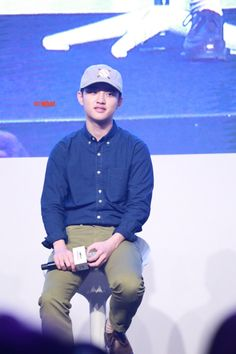 D.O - 160528 Hat's On fanmeeting Credit: O!What.