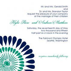The Alexis - Tribal Wedding Invitation   shopannabelles shopannabelles.com