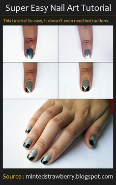 Super Easy Nail Tutorial