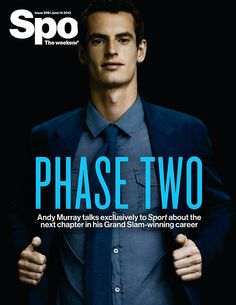 Andy Murray on the cover of Sport Magazine UK #tennis #atp
