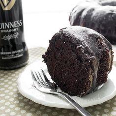 Dark Chocolate Guinness Cake Recipe