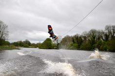 Wake boarding in Terryglass lough Derg Sit Back, Wakeboarding, Canoe, Niagara Falls, Sailing, Cruise, Boat, Activities, Water
