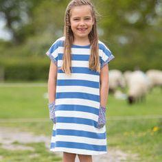 Kite Clothing SS16 Girls Nautical ditsy dress