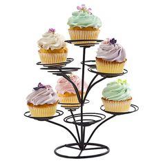 Mia 9-Cupcake Tree in Black