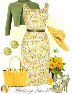 """""""Chelsea"""" by flattery-guide on Polyvore. The heels are way too tall, otherwise a cute spring outfit."""