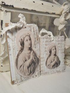 Art Gift Tags Set Saint II <3