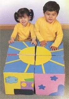Ideia Criativa - Gi Barbosa Educação Infantil: Quebra Cabeça Pedagógico para crianças de Creches ...