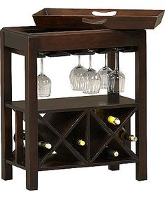 This Cabernet wine table from #Havertys is the ideal accent piece for adding character to your space. The top of this piece is a removable tray for convenient serving. Be the perfect host at this year's holiday #cocktail #party.