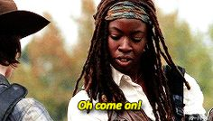 Pin for Later: 21 Walking Dead GIFs That Will Only Make Sense to Someone Who Isn't a Morning Person When the Only Thing You Actually Want to Put On Is in the Bottom Corner of Your Hamper, and Covered in an Unidentifiable Crust