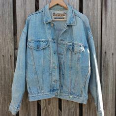 1980s Vintage GUESS Jean Jacket  Vintage by TomieHarleneVintage, $25.99