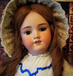 "Lovely! 28"" Handwerck A Gorgeous German Antique Doll Desirable Mold 119 ~ Matching head and body marking ~~ Layaway is Available!"