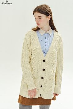 Cosy Nights Cardigan (Cream) - Miss Patina - Vintage Inspired Fashion