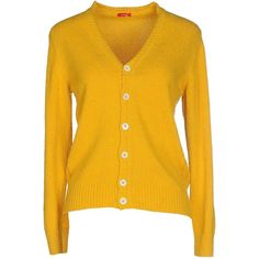 Altea Cardigan ($150) ❤ liked on Polyvore featuring tops, cardigans, ochre, long sleeve cardigan, cotton cardigan, v-neck tops, altea and yellow v neck cardigan