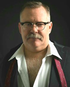 Bears, Briefs, & Beef — Tim Hooper 😍 Sexiest Man Alive! Plus Size Mens Clothing, Men's Clothing, Big Daddy Bear, Handsome Older Men, Lgbt, Chubby Men, Bear Men, Big Guys, Hairy Chest