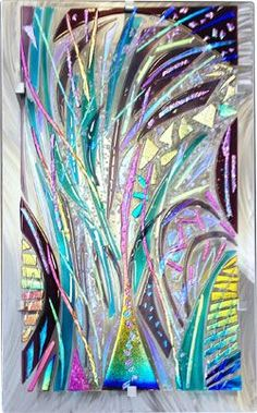 Fused Glass Wall Art by Frank Thompson                                                                                                                                                      More