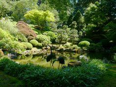 Washington Park in Portland Oregon: Portland Japanese Garden in Washington Park