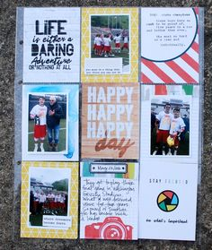 2016 State Champions, by Denise Morrison @cocoadaisykits June's kit Walden Pond. #cocoadaisykits #projectlife #cocoadaisyditlkits