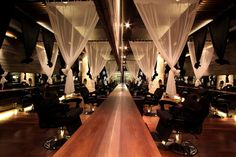 Japanese Hair Salon Hairu by Chrystalline Architect  store design