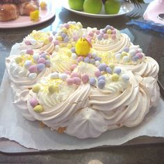 Mary Berry's Easter Pavlova #MaryBerry #pintheperfect