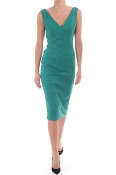 Thisdress looks sensational, it features a deep v shape at the front and back.This dress is perfect for any event and is great to wear with heels and a simple clutch bag.   Estapona Brummel Dress by kevan Jon. Clothing - Dresses Blackpool, Lancashire, North West England, England, United Kingdom