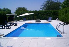 Der fertige Pool