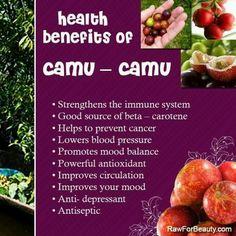 Health benefits of camu camu