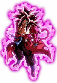 Goku 4, Son Goku, Broly Ssj4, Character Art, Dbz Multiverse, Fire Drawing, Mangekyou Sharingan, Popular Anime, Alucard