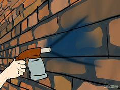 How to paint exterior brick walls
