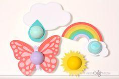 Spring Printables for EOS Chapsticks