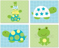 Nursey decor. Hey, I found this really awesome Etsy listing at https://www.etsy.com/listing/120703320/turtle-frog-printable-nursery-wall-art