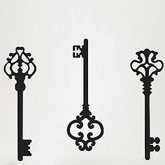 key vinyl wall art