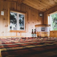 Check out the inside of the tiny house! Be sure to enter to win at http://ift.tt/2n2UXzp..... #PurePNW #tinyhouse #tinyhousemovement #tinyhousenation #offthegrid #giveaway #cider #hardcider #hoppedcider #pickcider #drinkcider #drinklocal