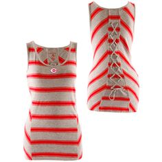 Keep cool in in the summer months with a Cincinnati Reds Womens Heist Tank by Antigua. $26.99.