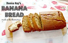 Donna Hay's Banana Bread converted for the Thermomix. It's the best banana bread I've ever made.