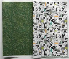 Oceans of Green & Acres of Plenty by Michele Rosenboom.  Available on Spoonflower.