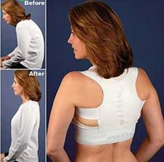 """Evertone Posture Support Corrective Back Bridge with Magnetic Therapy by Milex. $39.95. 12 Magnetic inserts to assist in pain relief. Designed to help correct bad posture. Fits waist 32"""" to 46"""". Invisible under clothing for him and her. Aligns the neck and the spine. In a world where the majority of the population sits and stares at computers all day after commuting in a car, back posture and sitting with a straight spine is often ignored. Evertone Posture Support Corrective Ba..."""