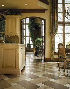 elegant ceramics kitchen floor tile patterns design gallery love the use of 3 colors