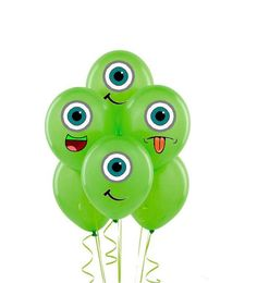 Monsters inc Balloon Stickers INSTANT by MyHeartnSoulBoutique, $5.65