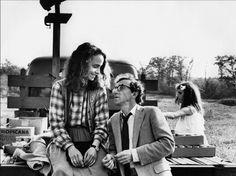 """Woody Allen and Jessica Harper in """"Stardust Memories"""" (1980)."""