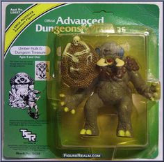 Advanced Dungeons & Dragons Action Figure Checklist | ... Advanced Dungeons & Dragons - PVC Figures manufactured by LJN [Front