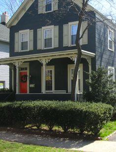 like the contrast of the door color #home #exterior #door trim color?!
