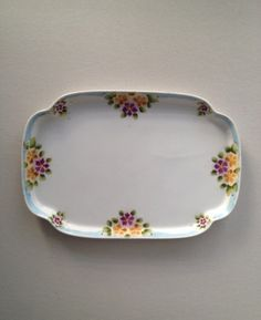 Antique Nippon Porcelain Dresser Tray Vanity Tray by Relikology, $25.00