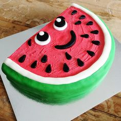 Watermelon DIY Cake Kit - Our Supercute shopkins inspired Watermelon Cake Kit comes with everything you need to bake and decorate this super this gorgeous cake.